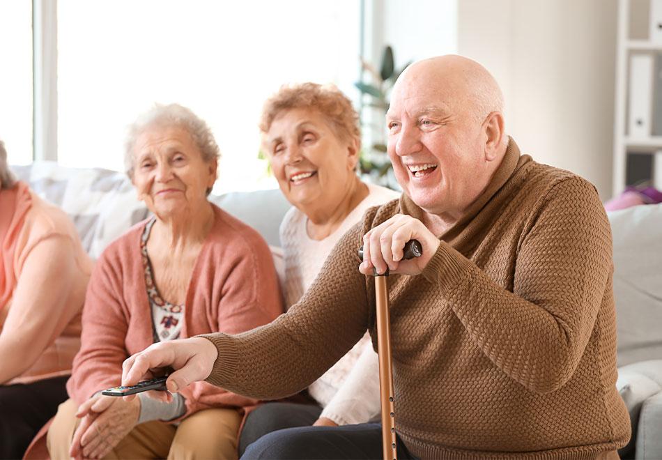 Soziale Kontakte für Senioren